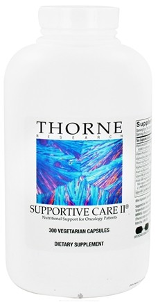 DROPPED: Thorne Research - Supportive Care II - 300 Vegetarian Capsules