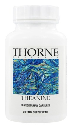 DROPPED: Thorne Research - Theanine 200 mg. - 90 Vegetarian Capsules