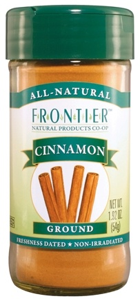 DROPPED: Frontier Natural Products - Cinnamon Ground Korintje - 1.92 oz. CLEARANCE PRICED