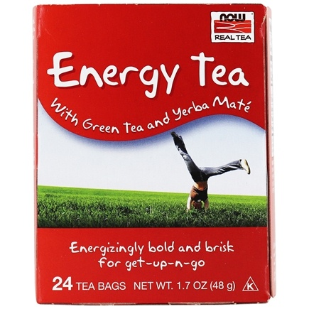 DROPPED: NOW Foods - Full Tilt Energy Tea Blend - 24 Tea Bags