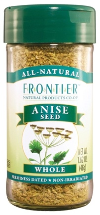 DROPPED: Frontier Natural Products - Anise Seed Whole - 1.62 oz. CLEARANCE PRICED