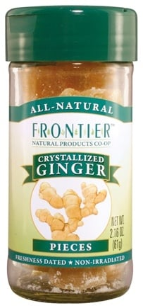 DROPPED: Frontier Natural Products - Ginger Pieces Crystallized - 2.16 oz. CLEARANCE PRICED