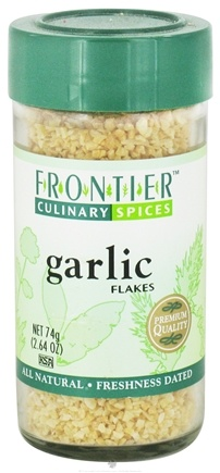 DROPPED: Frontier Natural Products - Garlic Flakes - 2.64 oz. CLEARANCE PRICED