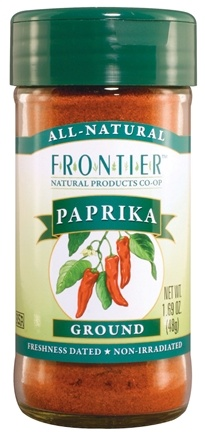 DROPPED: Frontier Natural Products - Paprika Ground - 1.69 oz. CLEARANCE PRICED
