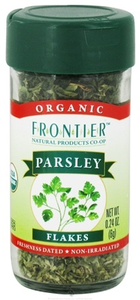DROPPED: Frontier Natural Products - Parsley Leaf Flakes Organic - 0.24 oz. CLEARANCE PRICED