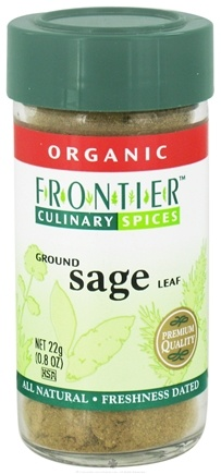 Zoom View - Sage Leaf Ground Organic