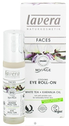 DROPPED: Lavera - MyAge Cooling Eye Roll-On White Tea Karanja Oil - 0.24 oz. CLEARANCE PRICED