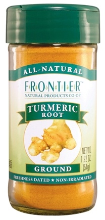 DROPPED: Frontier Natural Products - Turmeric Root Ground - 1.92 oz. CLEARANCE PRICED