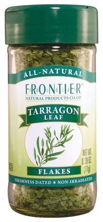 DROPPED: Frontier Natural Products - Tarragon Leaf Flakes - 0.39 oz. CLEARANCE PRICED