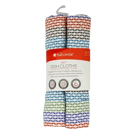 Full Circle - Tidy Dish Cloths - 3 Pack