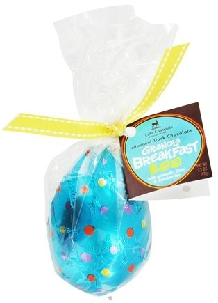 DROPPED: Lake Champlain Chocolates - All Natural Dark Chocolate Granola Breakfast Easter Egg - 2.2 oz.