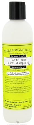 DROPPED: Pharmacopia - Conditioner Verbena & Green Tea - 8 oz. CLEARANCE PRICED