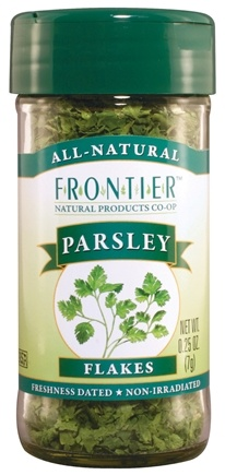 DROPPED: Frontier Natural Products - Parsley Leaf Flakes - 0.25 oz. CLEARANCE PRICED