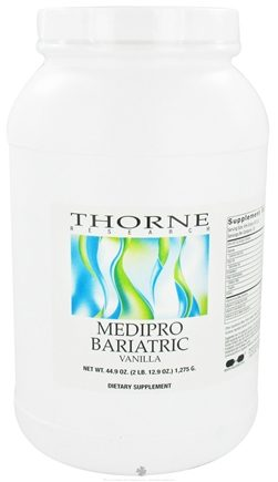 DROPPED: Thorne Research - Medipro Bariatric Vanilla - 44.9 oz. CLEARANCE PRICED