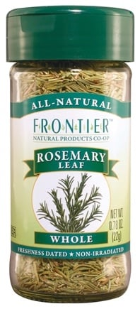 DROPPED: Frontier Natural Products - Rosemary Leaf Whole Organic - 0.85 oz. CLEARANCE PRICED