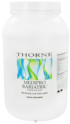DROPPED: Thorne Research - Medipro Bariatric Chocolate - 58 oz.