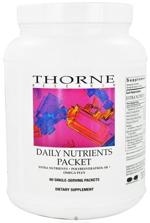 DROPPED: Thorne Research - Daily Nutrients Packet - 60 Single-Serving Packets - CLEARANCE PRICED