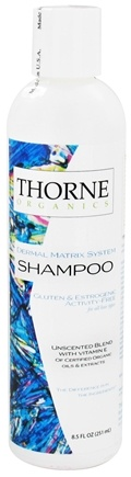 DROPPED: Thorne Research - Organics Shampoo Unscented Blend with Vitamin E - 8.5 oz. CLEARANCE PRICED