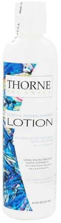 DROPPED: Thorne Research - Organics Lotion Unscented Blend with Vitamin E - 8.5 oz. CLEARANCE PRICED
