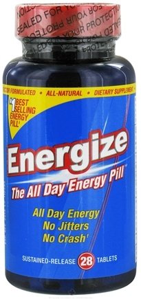 DROPPED: iSatori - Energize The All Day Energy Pill - 28 Tablets CLEARANCE PRICED
