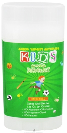 DROPPED: Varsity Naturals - Junior Kids Sport Natural Deodorant For Boys Unscented - 2.25 oz.