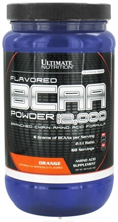 Zoom View - Platinum Series Flavored BCAA Powder 12,000 Branched Amino Acid Formula