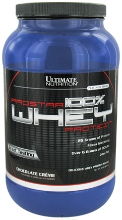 DROPPED: Ultimate Nutrition - Platinum Series ProStar 100% Whey Protein Chocolate Creme - 2 lbs. CLEARANCE PRICED