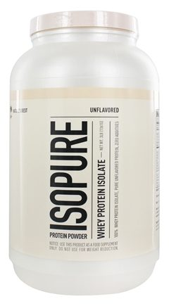 Nature's Best - Isopure Perfect Zero Carb Unflavored - 3 lbs.