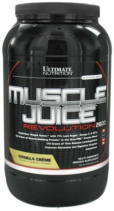 DROPPED: Ultimate Nutrition - Platinum Series Muscle Juice Revolution 2600 Vanilla Creme - 4.69 lbs. CLEARANCE PRICED