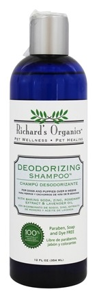 Zoom View - Richard's Organics 100% Natural Shampoo Deodorizing