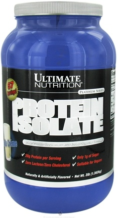 Zoom View - Platinum Series Protein Isolate