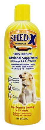 DROPPED: Synergy Labs - SHED-X Dermaplex Comprehensive Daily Nutritional Supplement For Dogs - 16 oz.