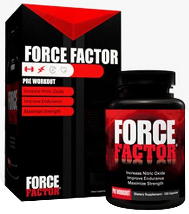 DROPPED: Force Factor - Pre-Workout Nitric Oxide Booster - 120 Capsules CLEARANCE PRICED