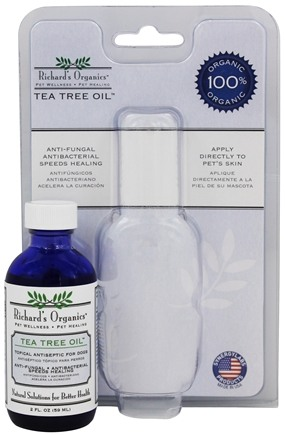 DROPPED: Richard's Organics - Organic Tea Tree Oil - 4 oz.