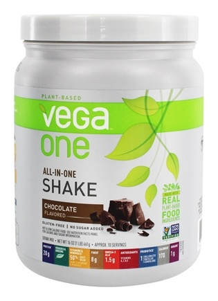 Vega - Vega One All-In-One Nutritional Shake Chocolate - 16 oz.