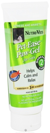 DROPPED: Nutri-Vet - Pet-Ease For Cats Paw-Gel Salmon - 3 oz. CLEARANCE PRICED