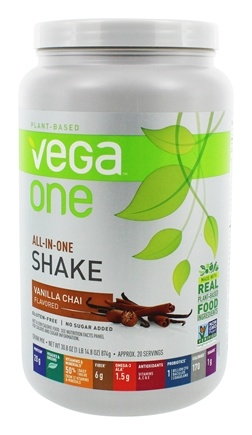 Vega - Vega One All-In-One Nutritional Shake Vanilla Chai - 30.8 oz.