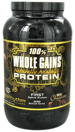 Zoom View - 100% Whole Gains Naturally Anabolic Protein