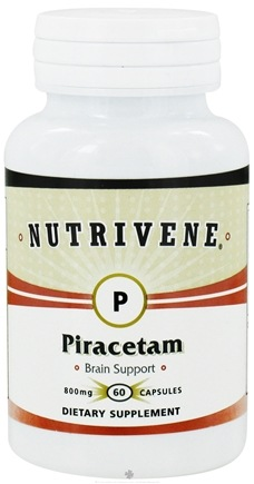 DROPPED: Nutrivene - Piracetam 800 mg. - 60 Capsules