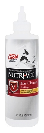 DROPPED: Nutri-Vet - Ear Cleanse For Dogs - 8 oz.