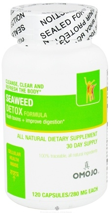 DROPPED: Omojo Health USA - Seaweed Detox Formula 280 mg. - 120 Capsules CLEARANCE PRICED