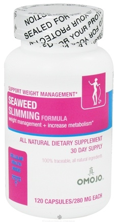 DROPPED: Omojo Health USA - Seaweed Slimming Formula 280 mg. - 120 Capsules CLEARANCE PRICED