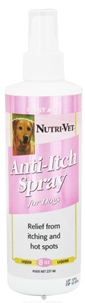 DROPPED: Nutri-Vet - Anti-Itch Cool Skin For Dogs - 8 oz. CLEARANCE PRICED