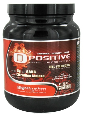 DROPPED: BioRhythm - O2 Positive Anabolic Blood Powder Fruit Transfusion - 700 Grams CLEARANCE PRICED