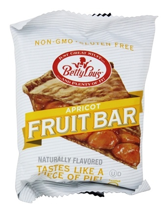 Betty Lou's - Fruit Bars Gluten-Free Apricot - 2 oz.