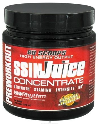 Zoom View - SSIN Juice Concentrate High Energy Output Preworkout Powder