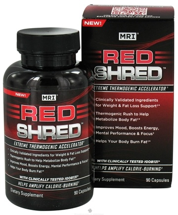 DROPPED: MRI: Medical Research Institute - Red Shred Extreme Thermogenic Accelerator - 90 Capsules with Green Coffee Extract