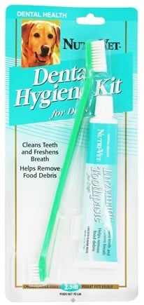 DROPPED: Nutri-Vet - Dental Hygiene Kit For Dogs - CLEARANCE PRICED