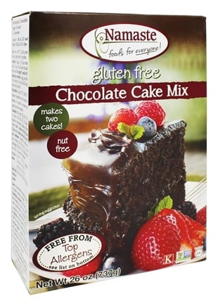 Namaste Foods - Gluten-Free Chocolate Cake Mix - 26 oz.