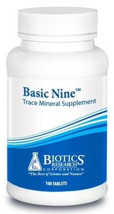 DROPPED: Biotics Research - Basic Nine - 100 Tablets CLEARANCE PRICED